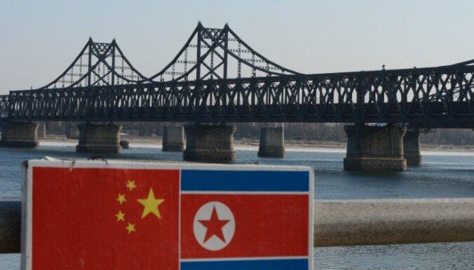 Pekina aicina Ziemeļkoreju atbrīvot nolaupītus ķīniešu zvejniekus