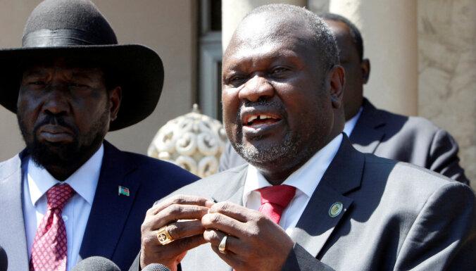 Dienvidsudānas viceprezidents ar sievu atkopies no Covid-19