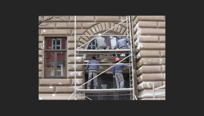 Ремонт фасада Сейма обойдется в 9617 латов