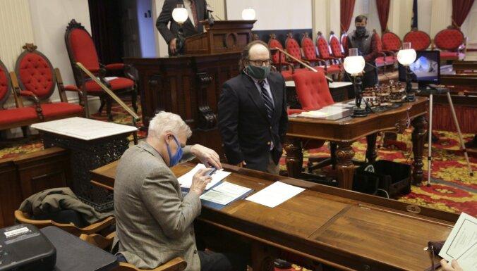 Vērmonta ievada elektoru kolēģijas balsojumu par nākamo ASV prezidentu