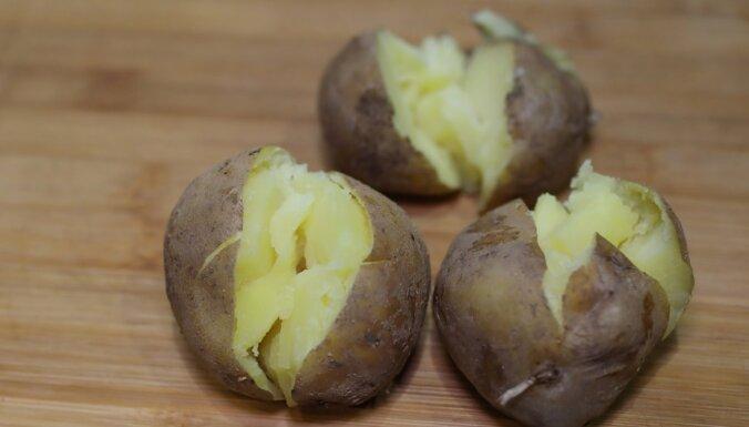 Foto recepte: Garšaugu kartupeļi ar trifeļu eļļu