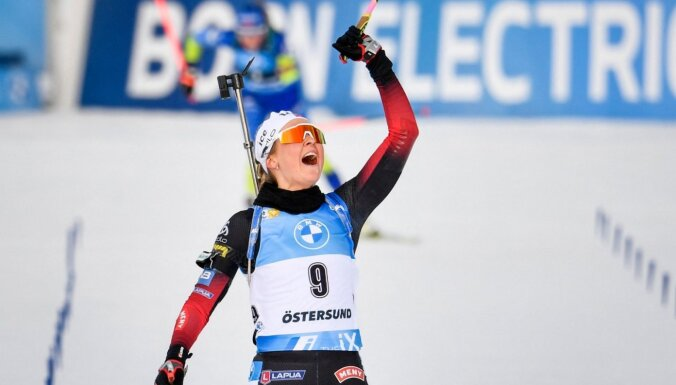 Tandrevolla sezonas pēdējās sacensībās izcīna pirmo uzvaru un Mazo kristāla globusu