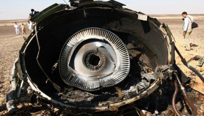 Sisi atzīst, ka Krievijas lidmašīnu virs Sīnāja pussalas notriekuši teroristi