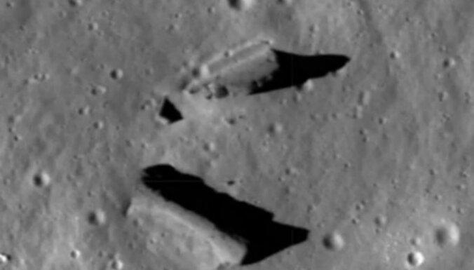 Uz Mēness virsmas saskatīta slepena citplanētiešu bāze