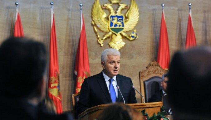 Melnkalnes premjerministra amatā apstiprināts Duško Markovičs