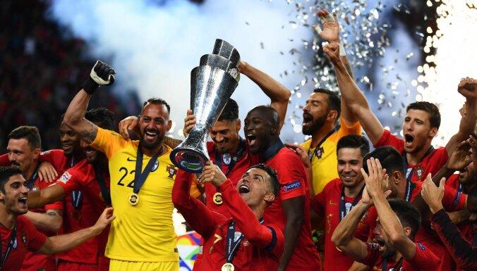 Новый трофей Роналду: португальцы выиграли первую Лигу наций