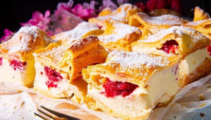 Klasiskā poļu kūka 'Karpatka'