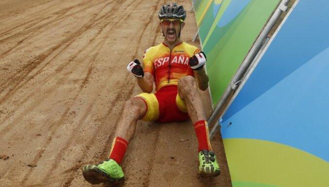 Bronze medalist Carlos Coloma Nicolas of Spain