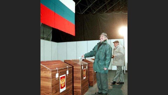 Krievijas prezidenta vēlēšanas Latvijā.
