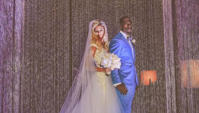 ФОТО: Известная эстонская семиборка вышла замуж за звезду американского футбола