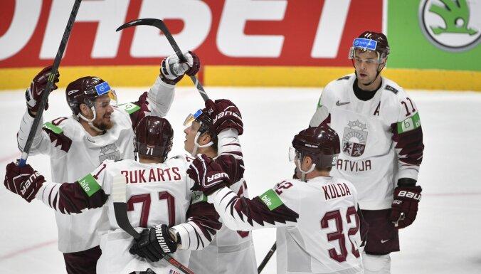 Определились соперники сборной Латвии по хоккею в квалификации Олимпийских игр-2022