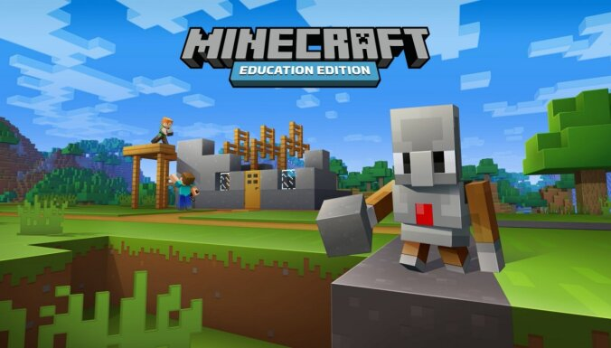 Skolēnus aicina radīt mākslu 'Minecraft' vidē un izcīnīt vietu digitālā izstādē