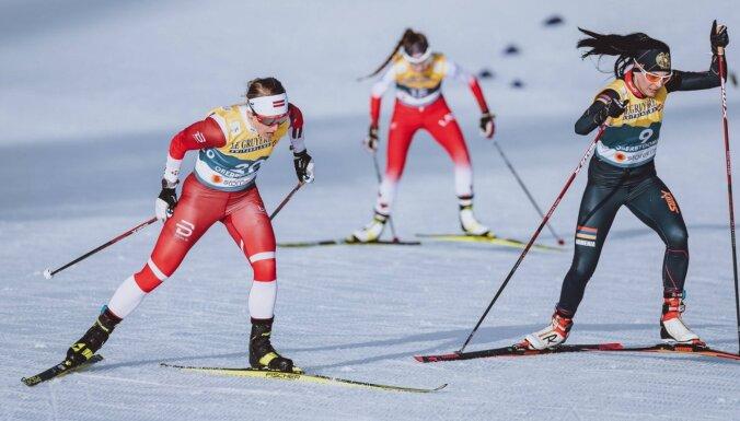 Bendika pasaules čempionātā distanču slēpošanā apsteidz Eiduku