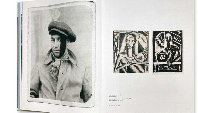Iznākusi monogrāfija par mākslinieku Niklāvu Strunki