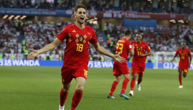 Бельгия впервые за 82 года обыграла Англию и заняла первое место в группе G