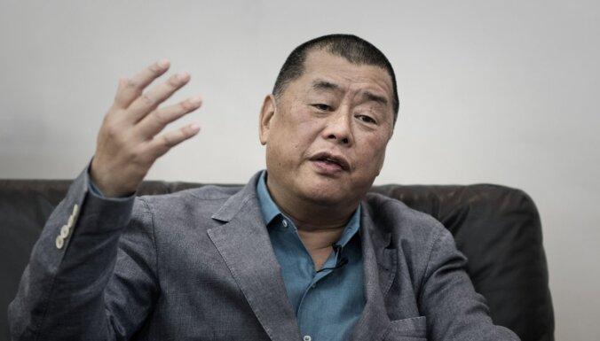 Honkongā arestēts prodemokrātisks uzņēmējs