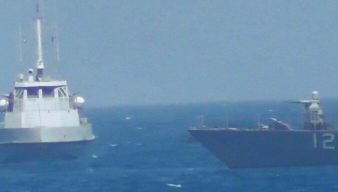Irāna ziņo par jaunu konfrontāciju ar ASV karakuģiem Persijas līcī