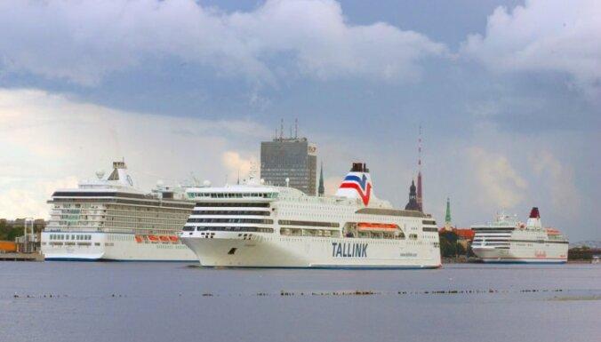 Sasniegts 'Tallink' pasažieru skaita rekords Rīgas ostā
