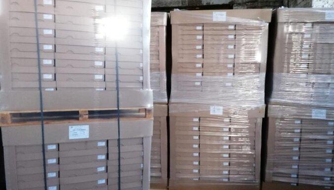 Налогово-таможенная полиция обнаружила подпольный табачный склад