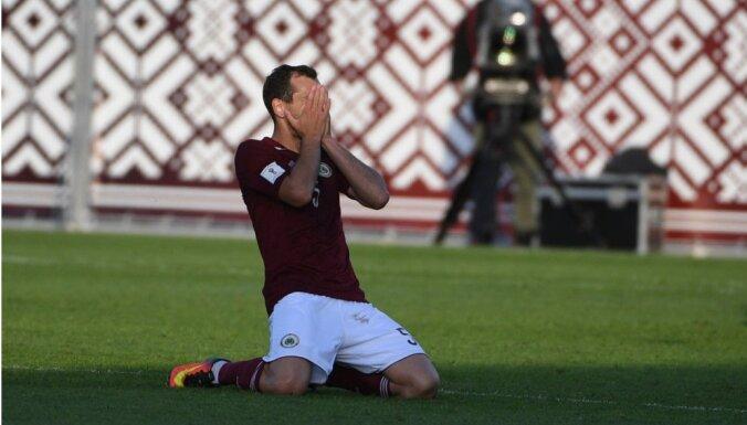 Сборная Латвии по футболу потерпела седьмое поражение подряд - на этот раз от Эстонии