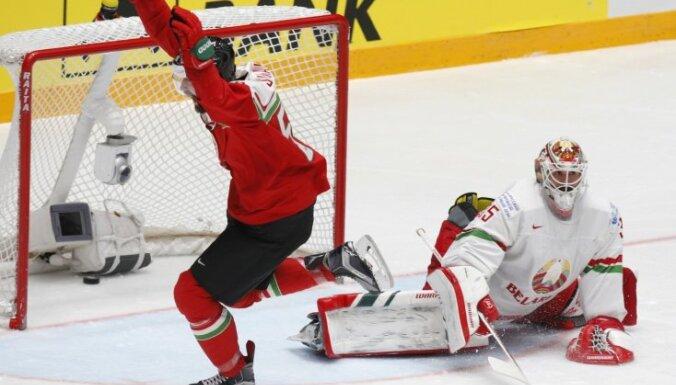 Венгры сенсационно обыгрывают белорусов и празднуют первый успех на ЧМ за 77 лет