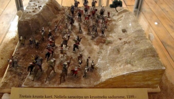 Вентспилс захватили оловянные солдатики