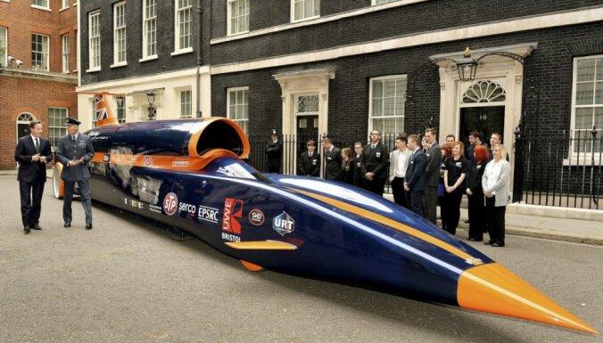 ФОТО: В Лондоне представлен сверхзвуковой автомобиль