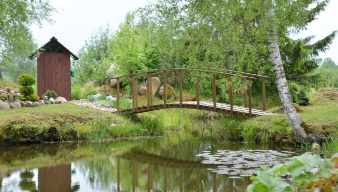 Ieskats trijos aizvadītās vasaras sakoptākajos īpašumos Talsu novadā