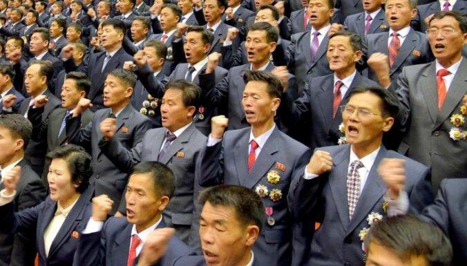 """КНДР обещает рассматривать морскую блокаду со стороны США как """"акт войны"""""""