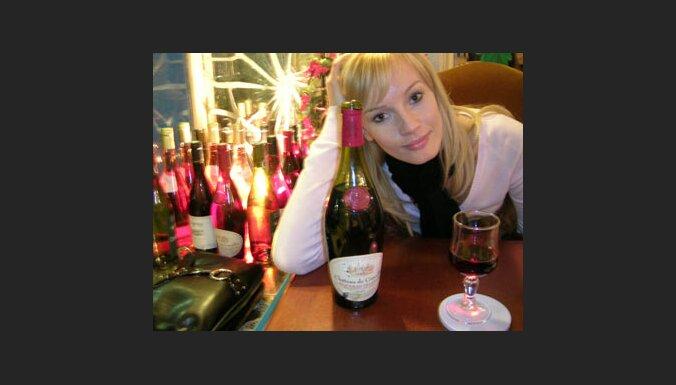 Vīns Parīzes restorānā. Foto: Oana Gherman