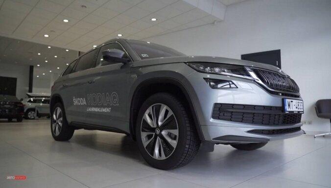 Спрятанный внутрь эксклюзив: Škoda Kodiaq Laurin & Klement