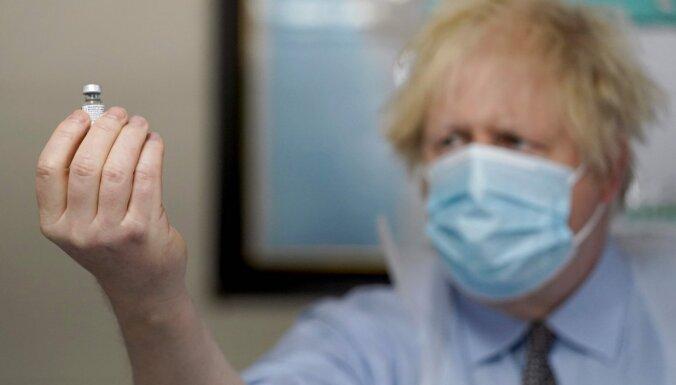 Covid-19: Lielbritānijā jauna mutācija samazina 'Pfizer' vakcīnas efektivitāti, taču aizsardzība saglabājas