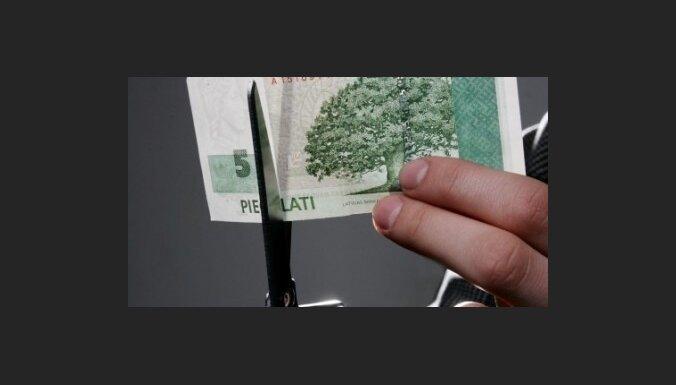 Дефицит госбюджета за полгода— 456,18 млн. латов
