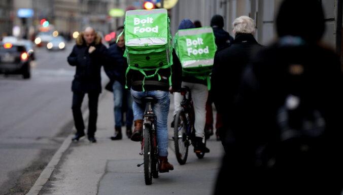 'Bolt Food' uzsāk pārtikas preču piegādi uz mājām
