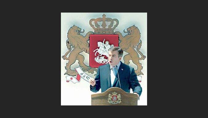 Saakašvili tiek apvainots plaša mēroga korupcijā