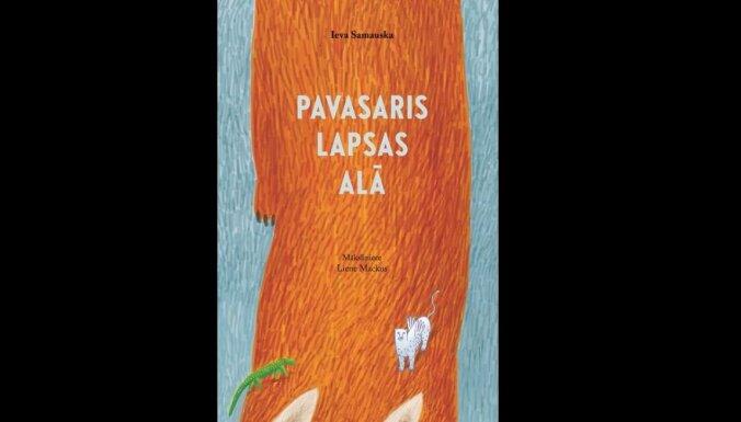 Iznāk Ievas Samauskas dzejoļu krājums bērniem 'Pavasaris lapsas alā'