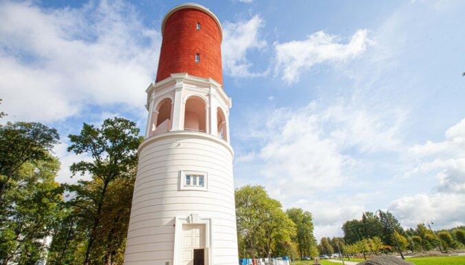 ФОТО. В Кемери завершилась реконструкция старинной водонапорной башни
