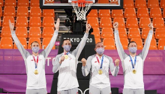 Вентспилс и Елгава выделят по 10 000 евро двум олимпийским чемпионам по баскетболу