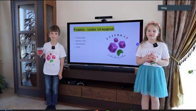 Baltijas bērnu 'startup' čempionātā Latvijas komanda izcīna 2. vietu