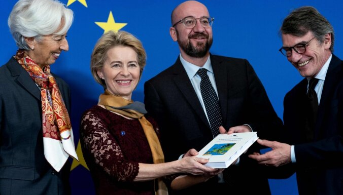 Darbu sāk Urzulas fon der Leienas vadītā Eiropas Komisija