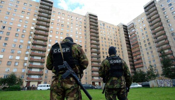 Krievijas drošības dienests aiztur ekstrēmistus aizdomās par iespējamiem uzbrukumiem valsts iestādēm