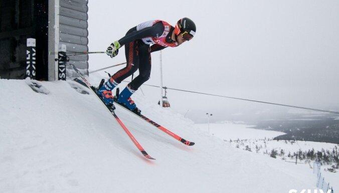 Zvejnieks kvalificējas pasaules čempionāta sacensībām milzu slalomā