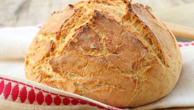 Īru sodas maize jeb baltmaize bez rauga