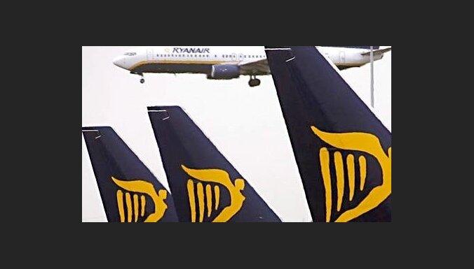 'Ryanair' vēl nav noslēdzis jaunu līgumu ar Rīgas lidostu; iespējama aiziešana