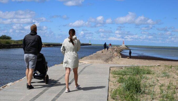 Kartē apkopotas dabas takas, kas pieejamas cilvēkiem ratiņkrēslos un vecākiem ar bērnu ratiņiem