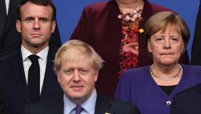 Francija, Lielbritānija un Vācija aicina Irānu ievērot kodolvienošanos