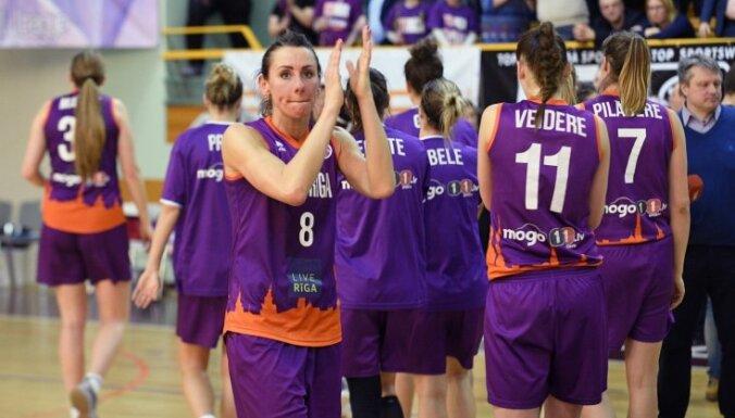 'TTT Rīga' basketbolistes svin kārtējo graujošo uzvaru Baltijas čempionāta mačā