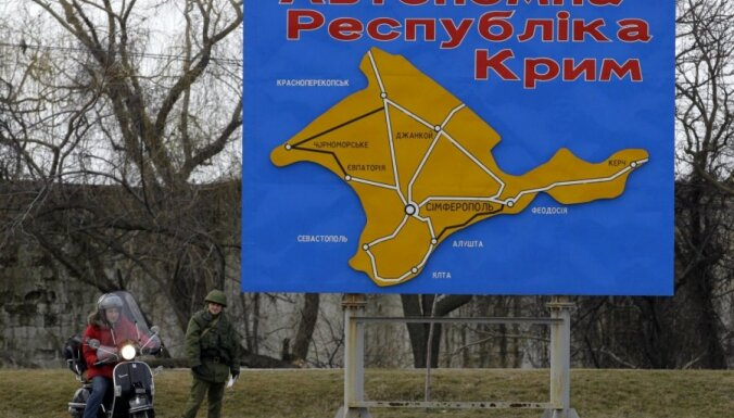 Krimā plānota provokācija – krievu karavīru nogalināšana, brīdina Ukrainas amatpersona