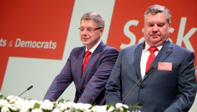 """После выборов в Сейм больше всего пожертвований получили """"Согласие"""" и Attīstībai/Par!"""