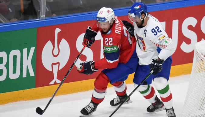 Третий день чемпионата мира в Риге начался с побед Норвегии и Словакии